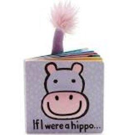 Jelly Cat BOOK - IF I WERE A HIPPO