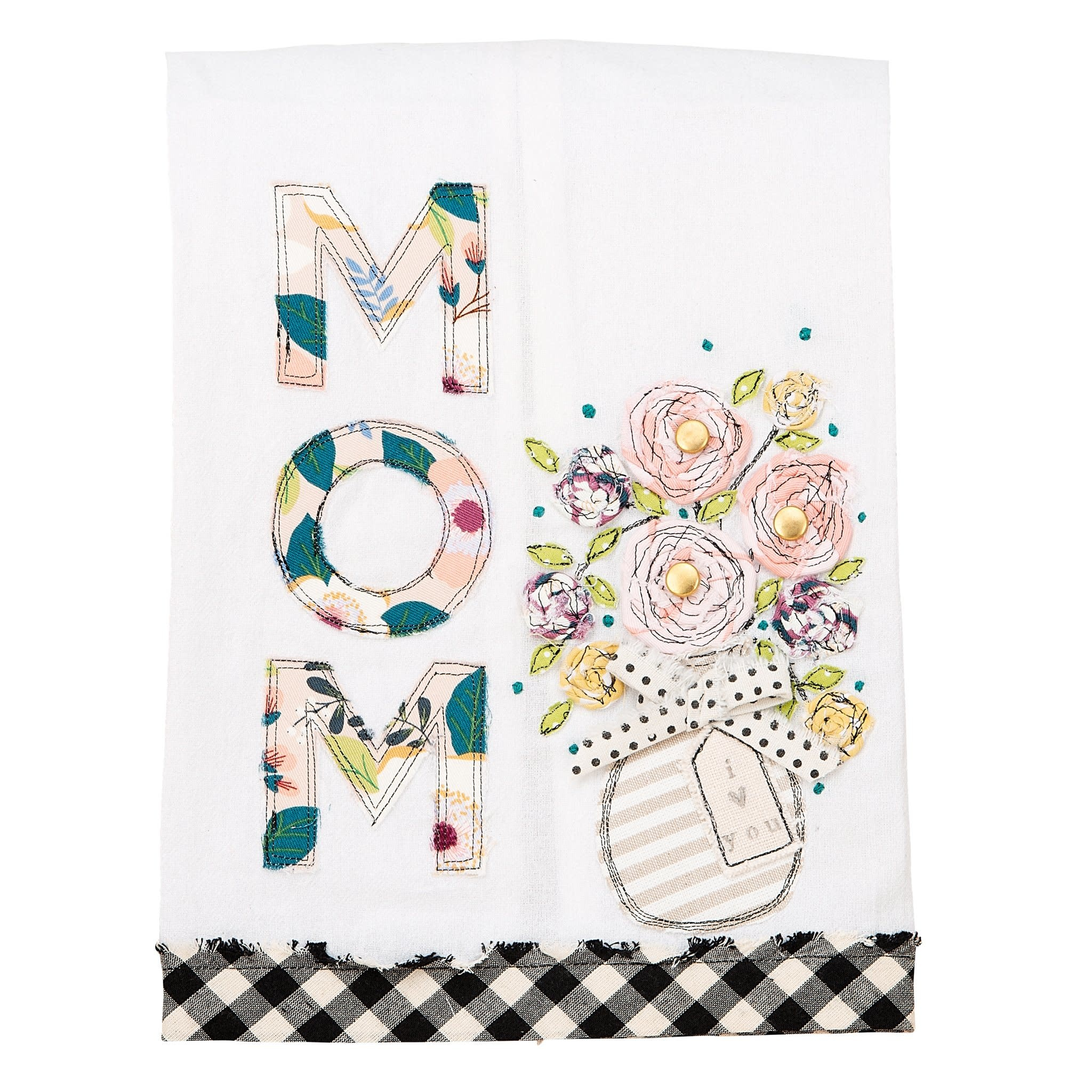 GLORY HAUS MOM: I LOVE YOU TEA TOWEL