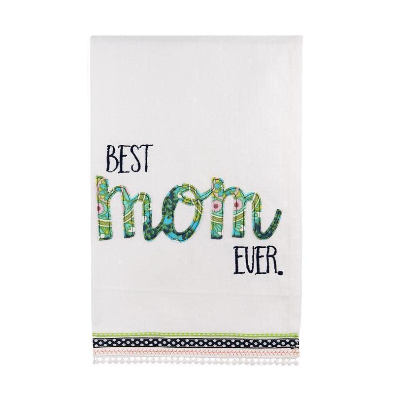 GLORY HAUS BEST MOM EVER TEA TOWEL