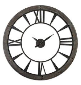 UTTERMOST RONAN LARGE WALL CLOCK