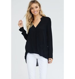 EE:SOME SURPLICE BLOUSE