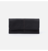 HOBO WONDER LEATHER LARGE WALLET BLACK