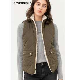 LOVE TREE PADDED VEST