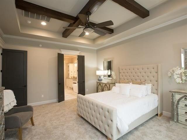 Staging Bedroom for CastleRock Builders