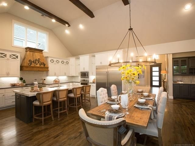 CastleRock Builders Staging Kitchen Area