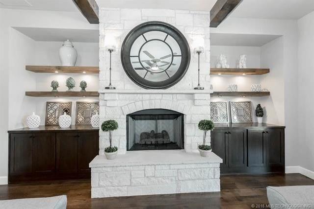 CastleRock Builders Living Room
