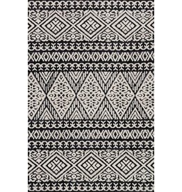 Loloi MAGNOLIA LOTUS RUG BLACK/SILVER 5' X 7.6'