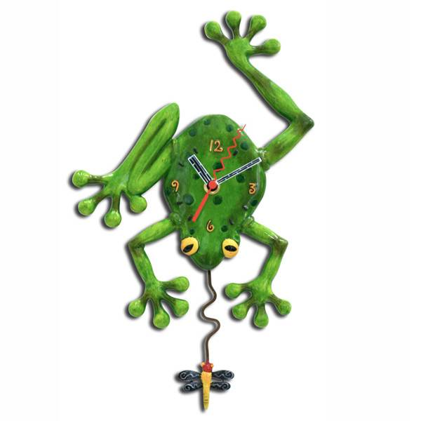 ALLEN CLOCKS ALLEN CLOCK FROG FLY