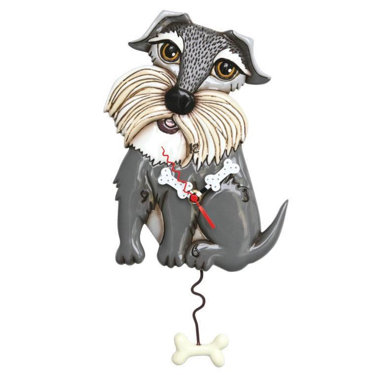 ALLEN CLOCKS ALLEN CLOCK LUCY DOG (SCHNAUZER)