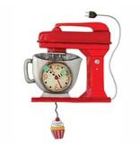 ALLEN CLOCKS ALLEN CLOCK VINTAGE MIXER (RED)
