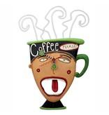 ALLEN CLOCKS ALLEN CLOCK COFFEE PLEASE