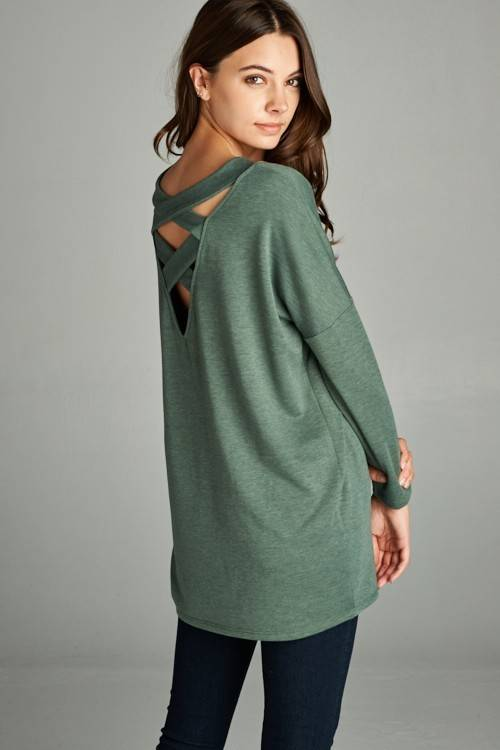Terry Cut Out Top