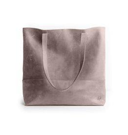 Fashionable Fashionable Mamuye Leather Tote - Pewter