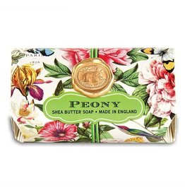 MICHEL PEONY LARGE BATH BAR SOAP