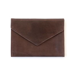Fashionable Tigist Clutch- Chocolate