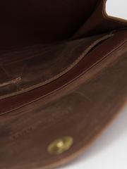 Fashionable Tigist Clutch- Chocolate