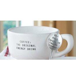 MUD PIE HOW MUCH COFFEE MUG SET