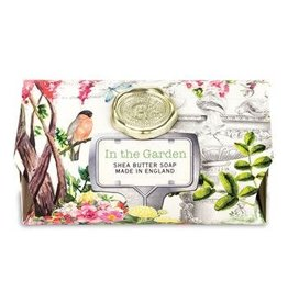 MICHEL IN THE GARDEN LARGE BATH SOAP BAR