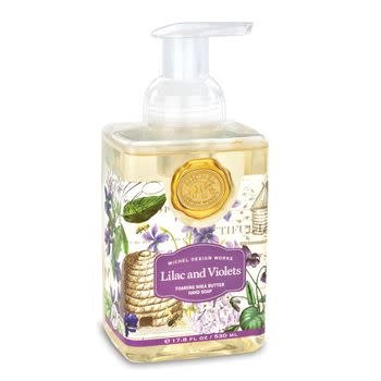 MICHEL LILAC AND VIOLETS FOAMING SOAP