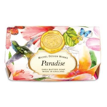 MICHEL PARADISE LARGE BATH SOAP BAR