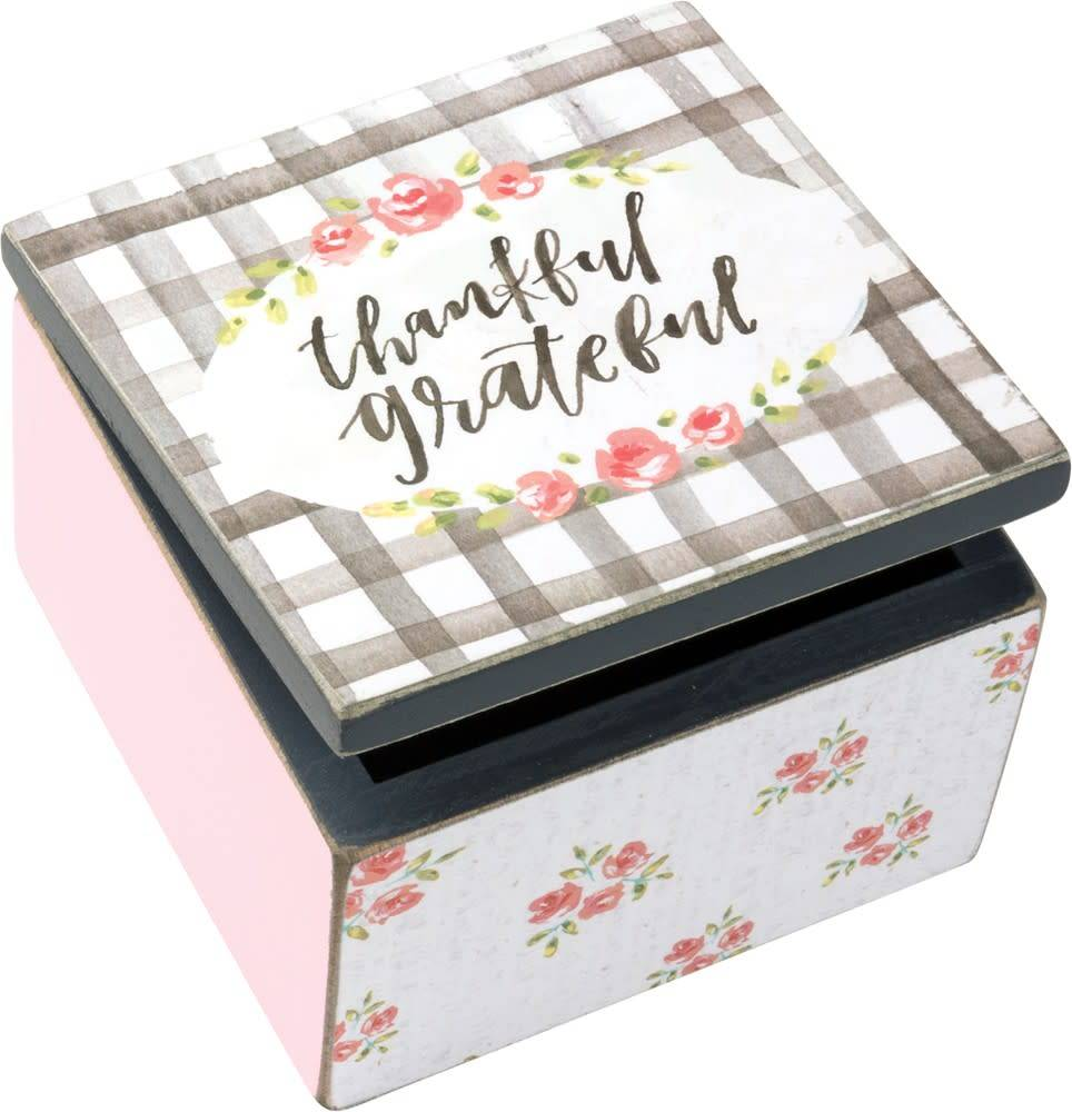 Box Sign Box - Thankful