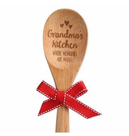 GRANDMA'S KITCHEN WOOD SPOON