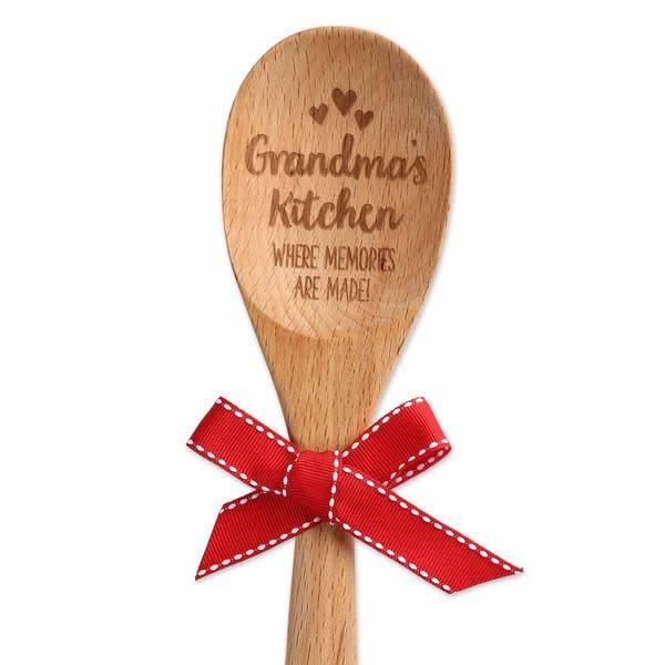 GRANDMA'S KITCHEN WOOD SPOON