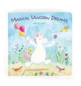 Jelly Cat MAGICAL UNICORN DREAMS BOOK