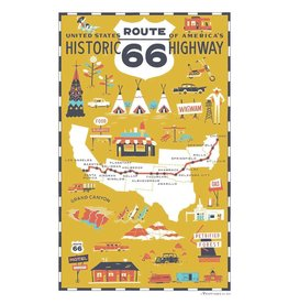 ROUTE 66 KITCHEN TOWEL