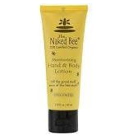 Naked Bee 2.25 OZ UNSCENTED HAND AND BODY LOTION