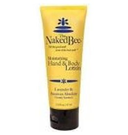 Naked Bee LAVENDER & BEESWAX ABSOLUTE HAND & BODY LOTION 2.25 OZ