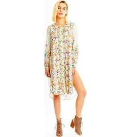 THE EVANGELINE EMBROIDERED TUNIC