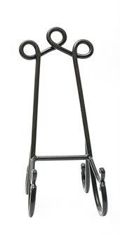 """14"""" HAND-FORGED IRON EASEL"""