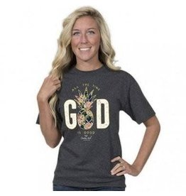 SIMPLY SOUTHERN COUNTRY CHICK GOD S/S TEE