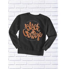 OSU BLACK & ORANGE CREW SWEATSHIRT