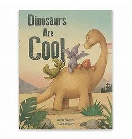 Jelly Cat DINOSAURS ARE COOL BOOK