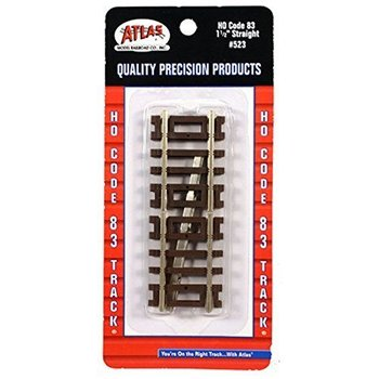 "Atlas HO Code 83 Straight 1 1/2"" Tracks # 523"