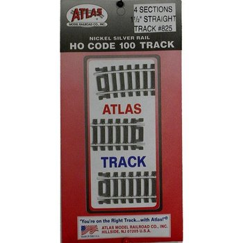 "Atlas HO Code 100 Straight 1-1/2"" # 825"