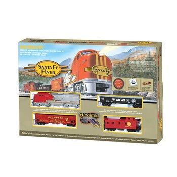 Bachmann HO Santa fe Diesel Flyer Set # 00647 #