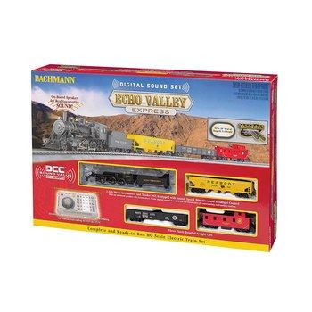 Bachmann HO DCC Echo Valley Southern Sound Steam Set # 00825