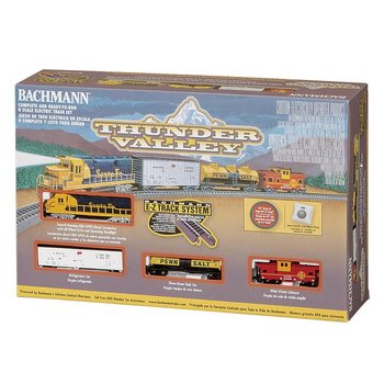 Bachmann N Thuder Valley Santa fe Train Set # 24013 #TOTES1