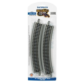 "Bachmann HO 18"" Radius Curved Track (12 pieces make a Circle) # 44501"