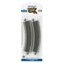 """Bachmann HO (15"""") Radius Curved Track (12 Pieces to a Circle) # 44505"""