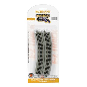 Bachmann N EZ Track Radius 11-3/4 Curved Track # 44801