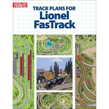 Kalmbach Track Plans for Lionel Fastrack # 108804 # TOTES1