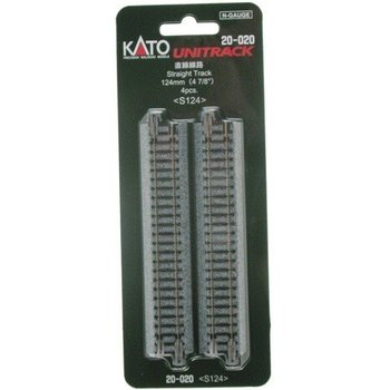 Kato N Straight Track 124MM (4) # 20-020