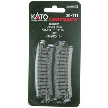 Kato Trains Kato N Unitrack Curved Track R282 # 20-111