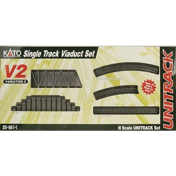 Kato Trains Kato N V2 Single Track Viaduct Set # 20-861-1