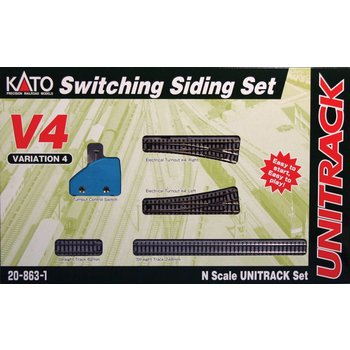 Kato N Switching Siding set V4 # 20-863-1 #TOTES1