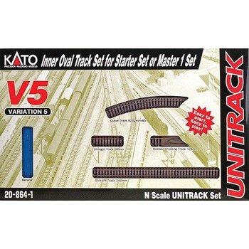 Kato Trains Kato N V5 Inside Loop Track set # 20-864-1
